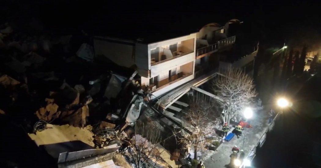 bolzano,-frana-travolge-l'hotel-eberle:-distrutta-una-parte-della-struttura.-le-immagini-all'alto-–-video