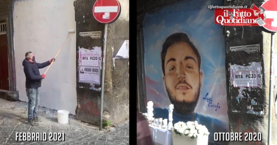 """napoli,-rimosso-murale-dedicato-al-rapinatore-17enne-morto-in-sparatoria.-polizia:-""""simboli-cosi-vanno-contrastati,-passo-verso-ripristino-legalita"""""""