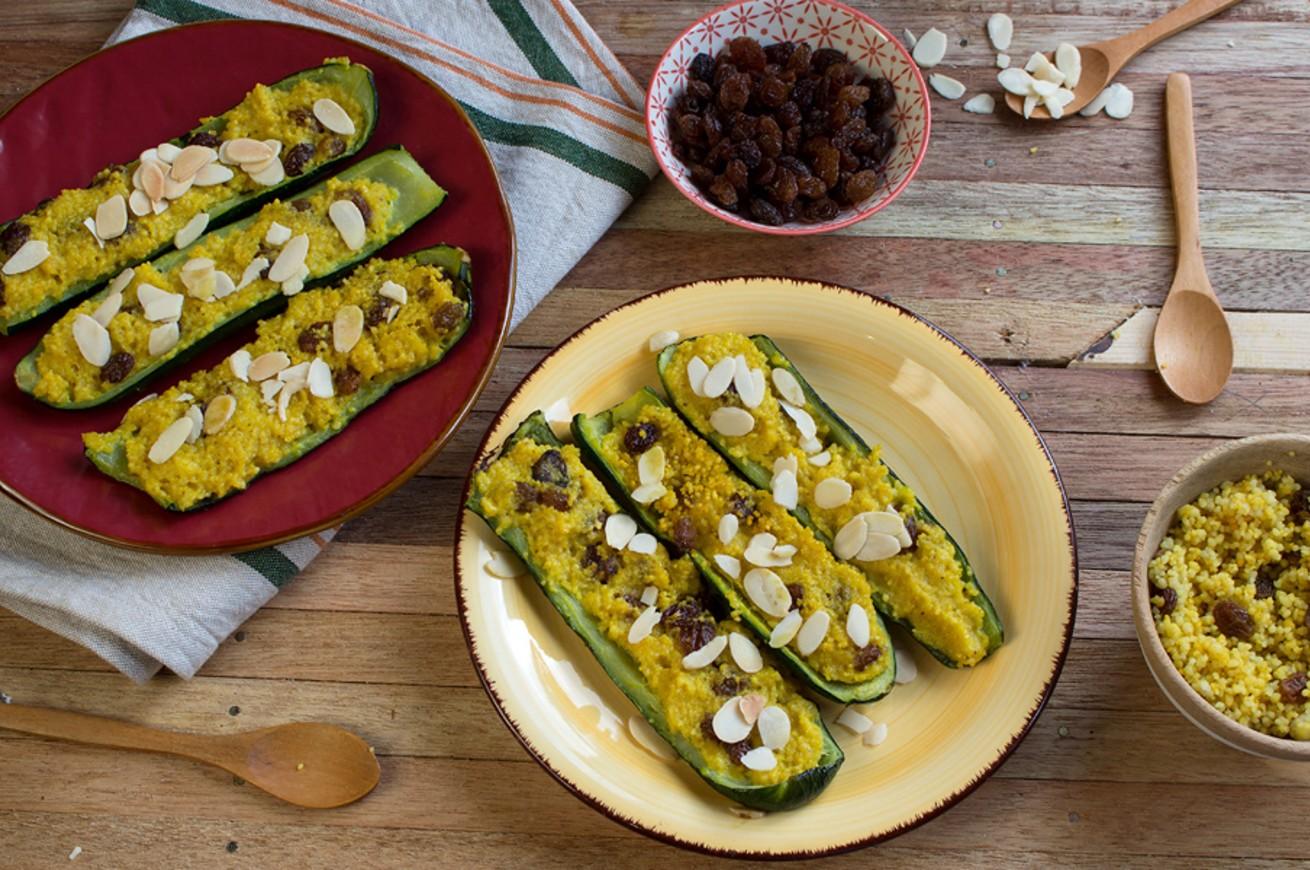 zucchine-ripiene-con-couscous-e-uvetta