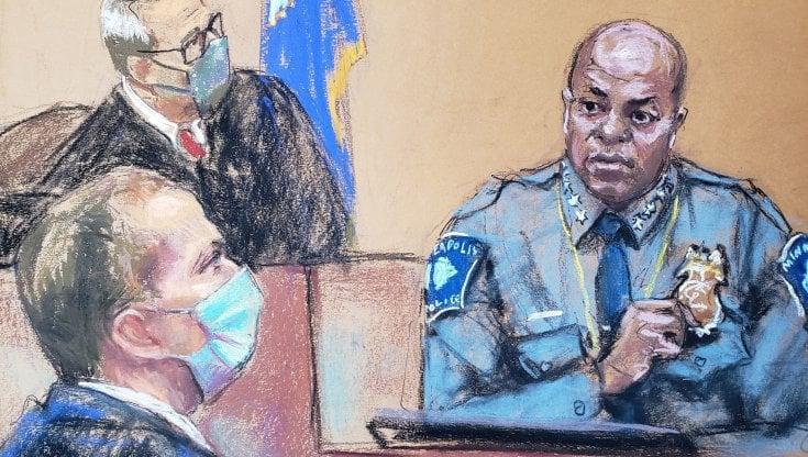 """omicidio-george-floyd,-il-capo-della-polizia-ammette:-""""l'agente-ha-violato-le-regole"""""""