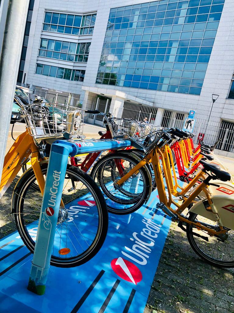 unicredit-sponsorizza-la-stazione-bikemi-di-milano-lampugnano.