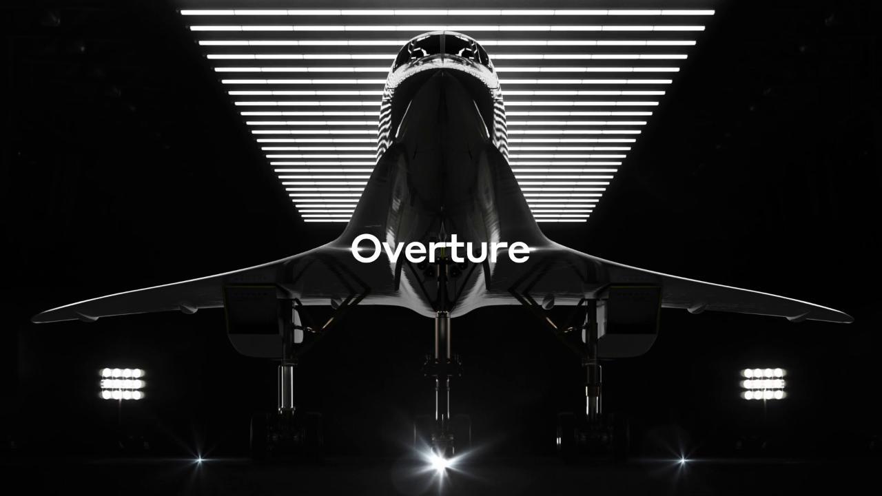 l'aereo-supersonico-boom,-acquistato-da-united-airlines,-dimezzera-i-tempi-di-volo