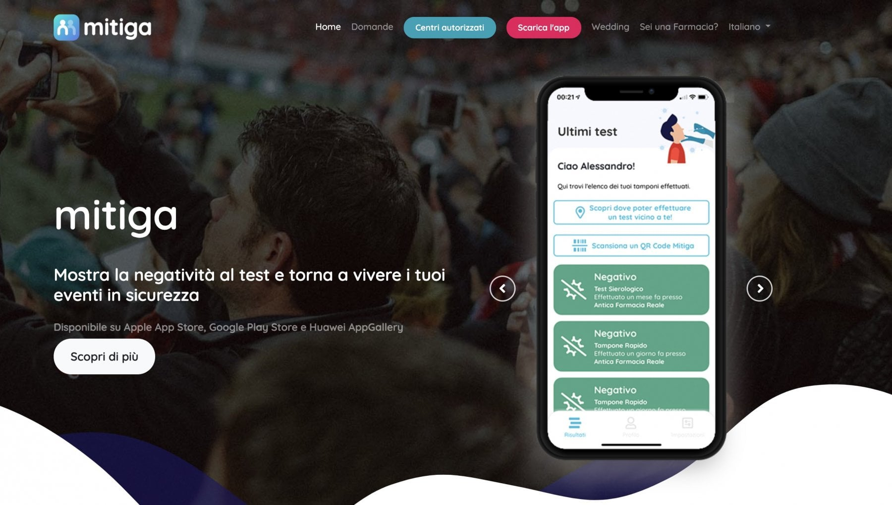 il-garante-della-privacy-blocca-mitiga,-l'app-per-andare-allo-stadio