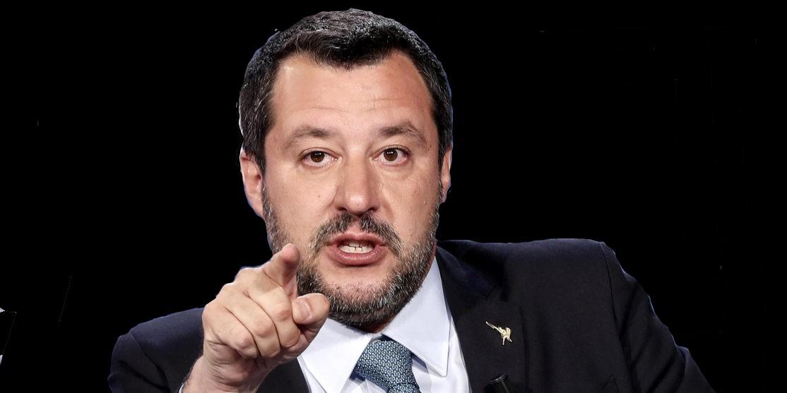 calabria,-salvini-attacca-dema:-«sindaco-fallito».-lui:-«razzista»