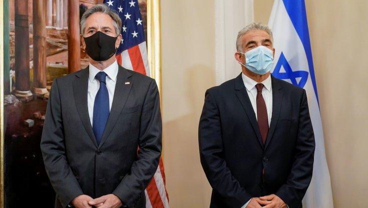 """lapid-incontra-blinken-a-roma:-""""riserve-su-un-accordo-sul-nucleare-iraniano"""""""
