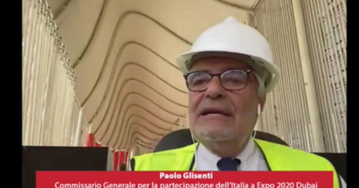 """expo-dubai,-glisenti:-""""padiglione-italia-primo-e-unico-carbon-free"""""""