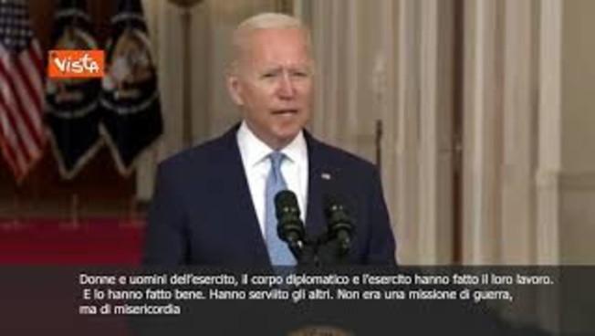 """sottotitoli-biden:-""""in-afghanistan-missione-di-misericordia"""""""
