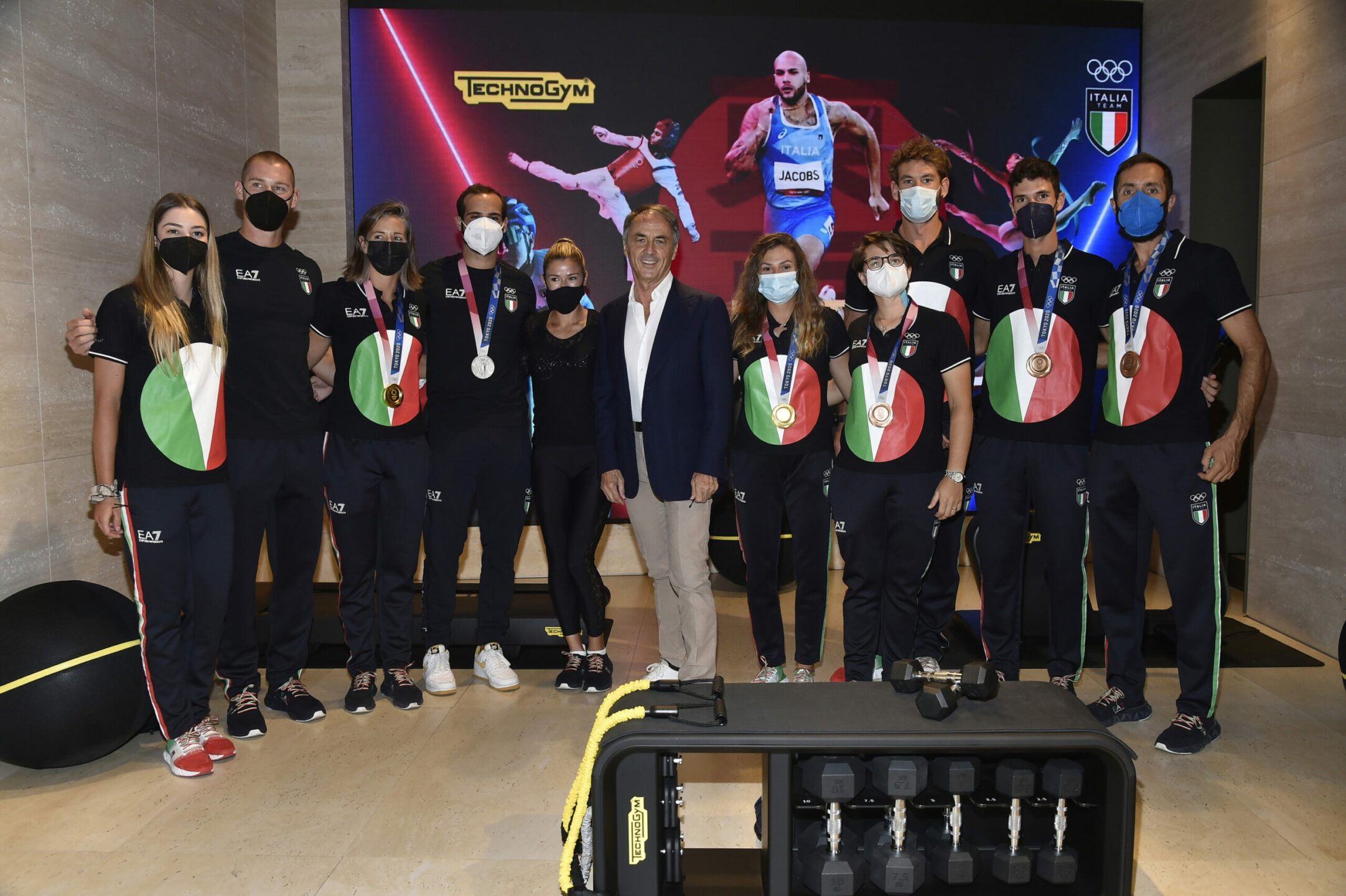 technogym-celebra-l'unione-tra-sport-e-design-con-i-campioni-di-tokyo-2020