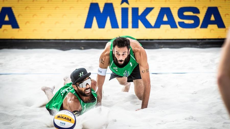 beach-volley,-a-cagliari-l'ultimo-match-insieme-per-nicolai-e-lupo