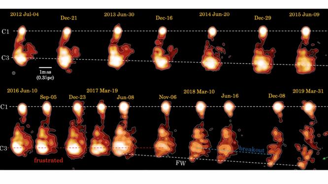 mega-collisione-nell'ammasso-di-galassie-di-perseo